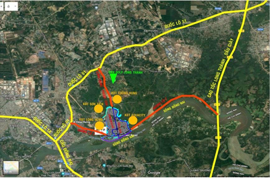 vị trí izumi city