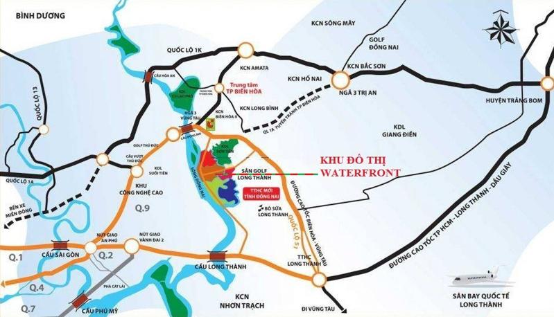 vị trí khu đô thị izumi city