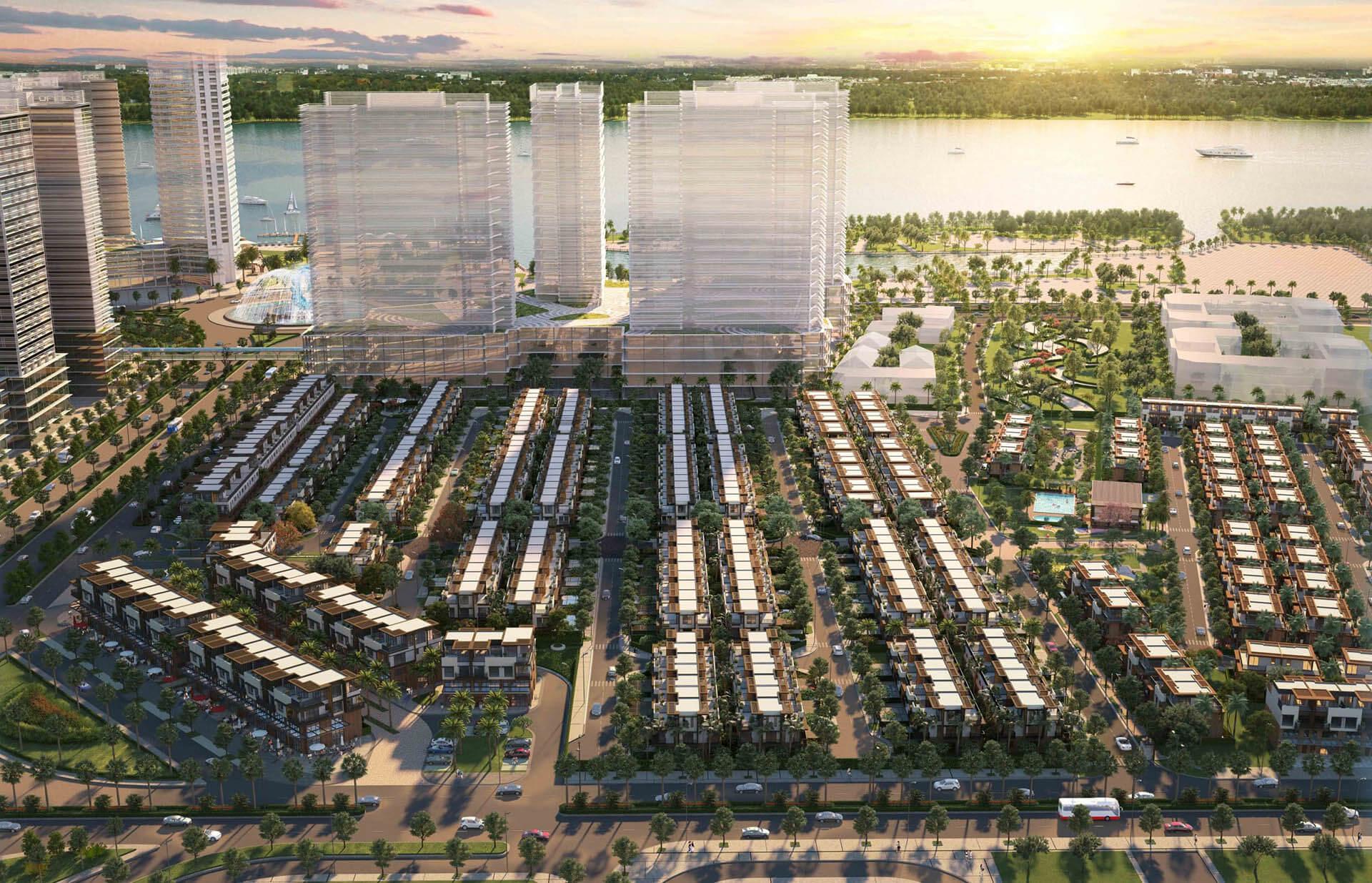 Giai đoạn 1 dự án Izumi City